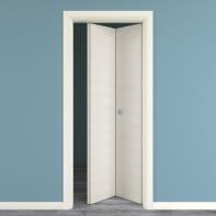 Porta pieghevole Touch bianco matrix L 80 x H 210 cm destra
