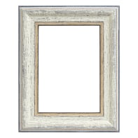 Cornice Fabriano bianco per foto da 14x14 cm