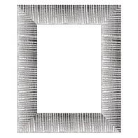 Cornice Soho argento per foto da 14x14 cm