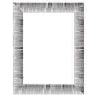 Cornice INSPIRE Soho argento per foto da 40x50 cm