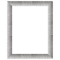 Cornice INSPIRE Soho argento per foto da 50x70 cm