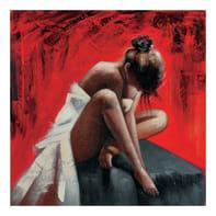 Quadro dipinto a mano Assortito 100x100 cm