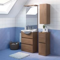 Mobile bagno Elise rovere tabacco L 60 cm