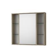 Specchio contenitore senza luce Kora L 74 x P 16 x H 75 cm olmo rousseau