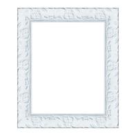 Cornice INSPIRE Sylvia bianco per foto da 20X25 cm