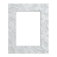 Cornice Varenne bianco per foto da 10x15 cm