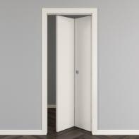 Porta pieghevole Strauss bianco L 70 x H 210 cm reversibile