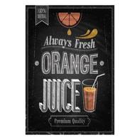 Quadro su tela Orange Juice Gesso 24x35 cm