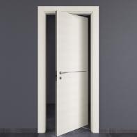 Porta rototraslante Hollow bianco matrix L 70 x H 210 cm destra