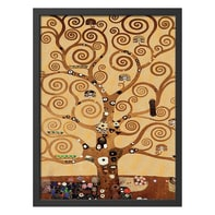Quadro con cornice Klimt 65x85 cm