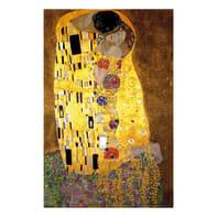 Quadro su tela Klimt Bacio 145x95 cm