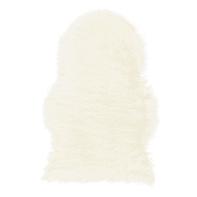 Tappeto Mongolia eco bianco 60x90 cm