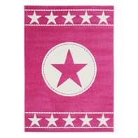 Tappeto Star kids rosa 120x160 cm