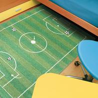 Tappeto Calcio kids , verde, 115x170 cm