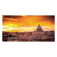 Quadro su tela Roma Vista 140x70 cm