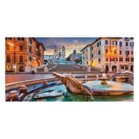 Quadro su tela Piazza di Spagna 90x190 cm