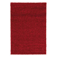 Tappeto Curly tender rosso 150x220 cm