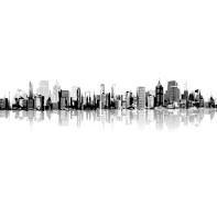 Quadro su tela New York 30x45 cm