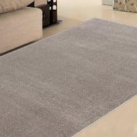 Tappeto Soave plain , grigio, 133x190 cm