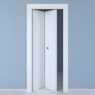 Porta pieghevole Renoir bianco venato L 70 x H 210 cm sinistra