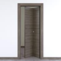 Porta pieghevole Starwood pietra L 70 x H 210 cm destra