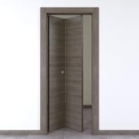 Porta pieghevole Starwood pietra L 80 x H 210 cm sinistra
