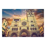 Quadro su tela Genova Duomo 90x135 cm