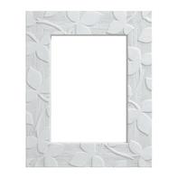 Cornice Varenne bianco per foto da 20x20 cm