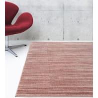 Tappeto Soave Soft plain , rosa, 120x170 cm