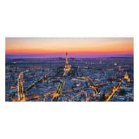 Quadro su tela Violet Paris 90x190 cm