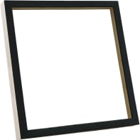 Cornice INSPIRE Sbang nero per foto da 20x20 cm