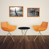 Cornice INSPIRE Easy arancione per foto da 30X40 cm