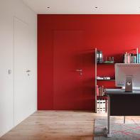 Porta a battente Pollock Filomuro naturale L 90 x H 210 cm reversibile