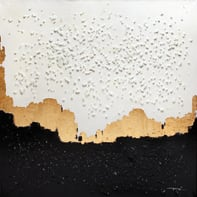 Quadro dipinto a mano A130 120x120 cm
