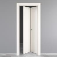 Porta pieghevole Moma bianco L 80 x H 210 cm destra