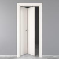Porta pieghevole Moma bianco L 70 x H 210 cm sinistra