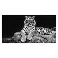 Quadro su tela Glitter Wow Tiger 145x75 cm
