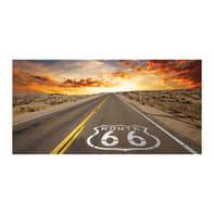 Quadro su tela Route 30x60 cm