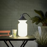 Lampada da esterno H155cm, in alluminio, E27 IP44 INSPIRE