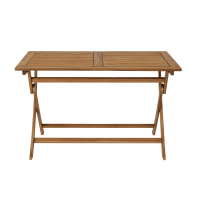 Tavolo rettangolare Porto NATERIAL in legno L 70 x P 120 cm