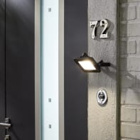 Proiettore LED integrato in alluminio, acciaio, 10W 900LM IP65 INSPIRE