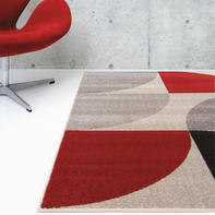 Tappeto Casa ventagli , colori assortiti, 60x120 cm
