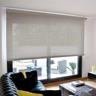 Tenda a rullo filtrante INSPIRE Screen grigio perla 180 x 250 cm