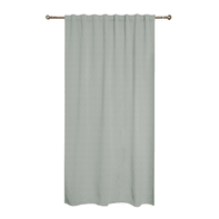 Tenda INSPIRE Charlina grigio fettuccia con passanti nascosti 140x280 cm