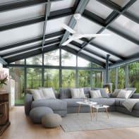 Ventilatore da soffitto Acores, bianco, D. 142 cm