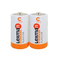 Pila alcalina LR14 C LEXMAN 844984 2 batterie
