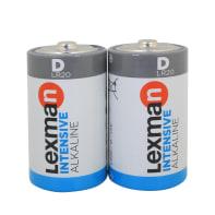 Pila alcalina LR20 D LEXMAN 844967 2 batterie