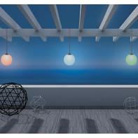 Lampada solare Norai , in plastica, luce rgb, 45LM IP65 NEWGARDEN