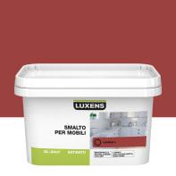 Pittura di ristrutturazione mobile cucina LUXENS 2 l rosso carmen 3