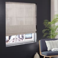 Tenda a pacchetto INSPIRE Shine argento 45x250 cm